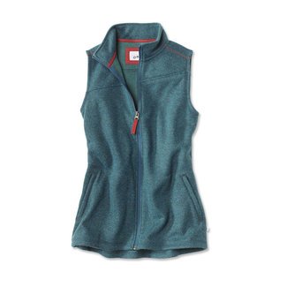 Orvis Orvis Women's Hybrid Wool Fleece Vest - Heathered Peacock Blue