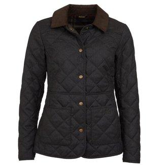 Barbour Barbour Women's Helvellyn Quilt Jacket - Olive Herringbone
