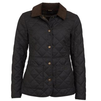 Barbour Women's Helvellyn Quilt Jacket - Olive Herringbone