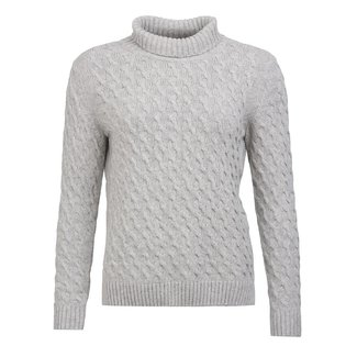 Barbour Barbour Women's Burne Knit Sweater - Light Grey Marl