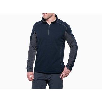 Kuhl Kuhl Men's Revel 1/4 Zip Sweater - Mutiny Blue/Steel