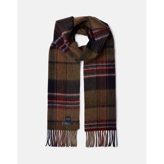 Joules Joules Tytherton Wool Checked Scarf