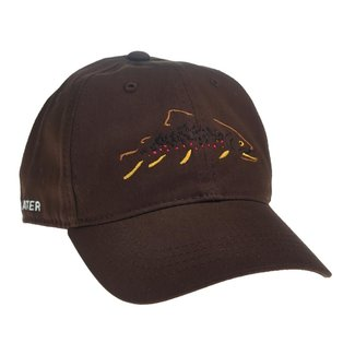 RepYourWater RepYourWater Minimalist Brown Trout Unstructured Hat