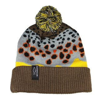 RepYourWater RepYourWater Brown Trout Skin 2.0 Knit Hat