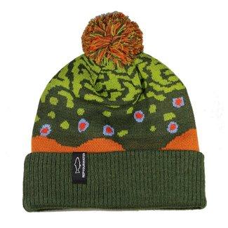 RepYourWater RepYourWater Brook Trout Skin Knit Hat