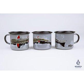 RepYourWater RepYourWater Enamel Camp Mug - Shallow Water Brookie