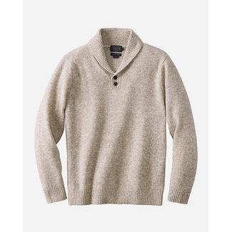 Pendleton Pendleton Men's Shetland Shawl Collar Pullover - Oat Heather