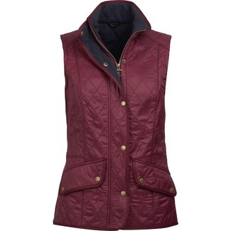 Barbour Barbour Women's Cavalry Gilet - Bordeaux/Merlot