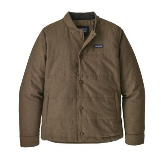 Patagonia Patagonia Men's Recycled Wool Bomber Jacket - Bristle Brown
