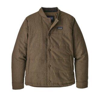 Patagonia Patagonia Men's Recycled Wool Bomber Jacket - Bristle Brown