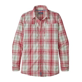 Patagonia Patagonia Men's Sun Stretch Long-Sleeved Shirt Static Red (KISW) M