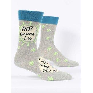 Blue Q Blue Q Men's Crew Socks - Not Gonna Lie
