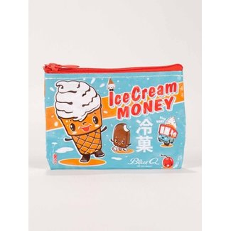 Blue Q Blue Q Coin Purse - Ice Cream Money