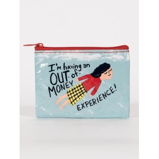 Blue Q Blue Q Coin Purse - Out of Money Experience