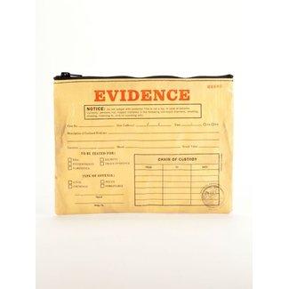 Blue Q Blue Q Zipper Pouch - Evidence