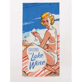 Blue Q Blue Q Dish Towel - Lake Wine