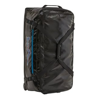 Patagonia Black Hole Wheeled Duffel 100L Black w/Fitz Trout