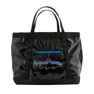 Patagonia Black Hole Gear Tote Black w/Fitz Trout