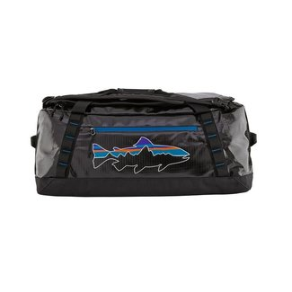 Patagonia Black Hole Duffel 55L Black w/Fitz Trout