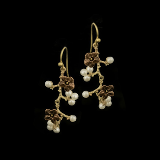 Michael Michaud Design Michael Michaud Ume Branch Earrings - Wire Dangle