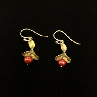 Michael Michaud Design Micheal Michaud Cranberry Earrings - Wire Drop