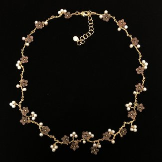 "Michael Michaud Design Michael Michaud Ume Branch Necklace - 16"" Contour"