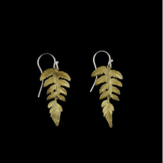 Michael Michaud Design Michael Michaud Fern Earrings - 2-Part Dangle