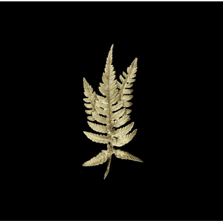 Michael Michaud Design Michael Michaud Fern 3 Leaf Brooch
