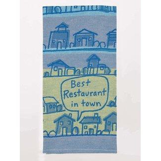 Blue Q Blue Q Dish Towel - Best Restaurant In Town