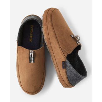 Pendleton Pendleton Men's Day Dropheel Slippers - Toasted Coconut