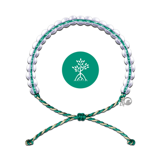 4Ocean 4Ocean Bracelet Mangroves & Estuaries - Emerald/Tan