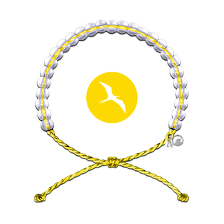 4Ocean 4Ocean Bracelet Seabirds - Yellow