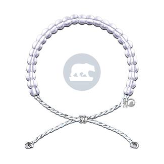 4Ocean 4Ocean Bracelet Polar Bear - White