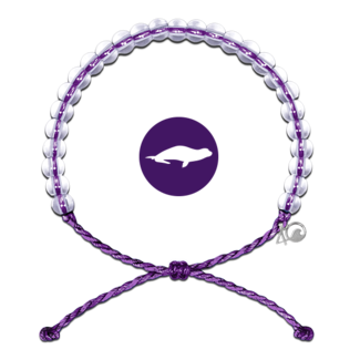 4Ocean 4Ocean Bracelet Hawaiian Monk Seal - Purple