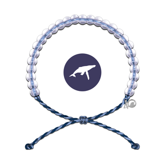 4Ocean 4Ocean Bracelet Whale - Light Blue/Navy