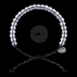 4Ocean 4Ocean Beaded Bracelet Shark - Black