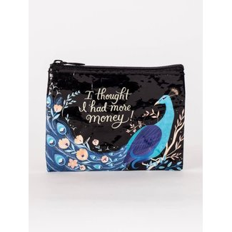 Blue Q Blue Q Coin Purse - I Thought I Had More Money