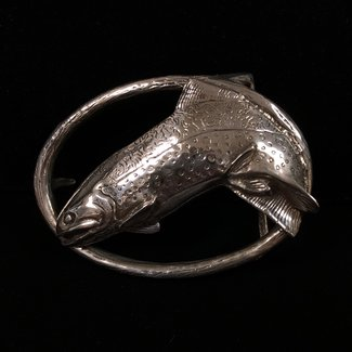 Leaping Fish Belt Buckle