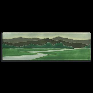 Motawi Tileworks Motawi Tile Riverscape 4x12 - Green