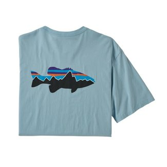 Patagonia PatagoniaMen's Fitz Roy Smallmouth Organic Cotton T-Shirt