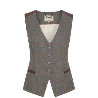 Dubarry Daisy Fitted Vest Heath US 12/14
