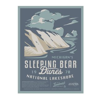 The Landmark Project The Landmark Project Sleeping Bear Dunes Poster