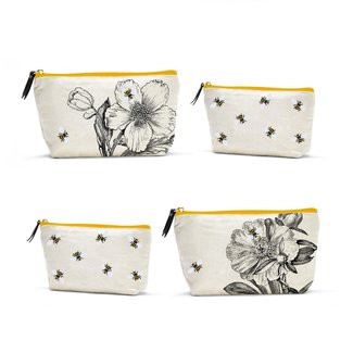 Two's Company Queen Bee Set of 2 Multipurpose Bags
