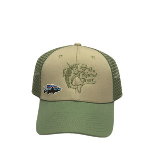 Patagonia Patagonia The Painted Trout Logo Small Fitz Roy Fish LoPro Trucker Hat