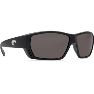 Costa C-Mates 2.00 Tuna Alley Matte Black Frame with Gray Plastic Lens 580P