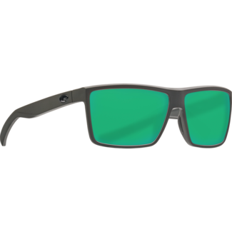 Costa Rinconcito Matte Gray Frame with Green Mirror Glass Lens 580G