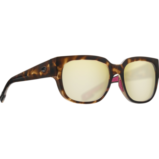 Costa Waterwoman Matte Shadow Tortoise Frame with Sunrise Silver Mirror Glass Lens 580G