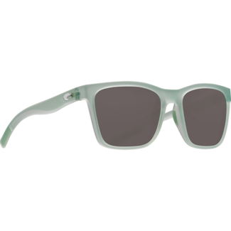 Costa Panga Matte Seafoam Crystal Frame with Gray Plastic Lens 580P