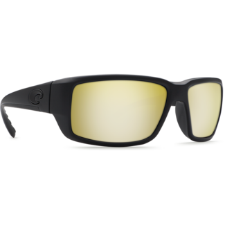 Costa Fantail Blackout Frame with Sunrise Silver Mirror Glass Lens 580G