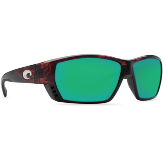Costa Tuna Alley Tortoise Frame with Green Mirror Plastic Lens 580P